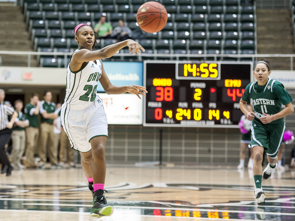 Ohio Bobcats Forward Tmisht Stinson