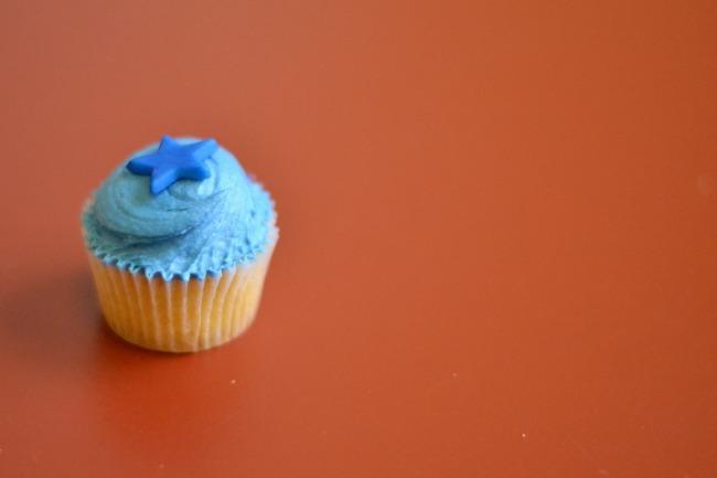 Birthday Cup cake bump pr
