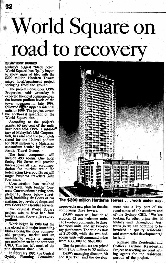 World Square recovery may 27 1997 smh 32