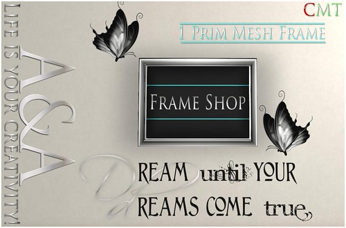 ::A&A:: Dreams Come True Frame - NEW by Alliana Petunia
