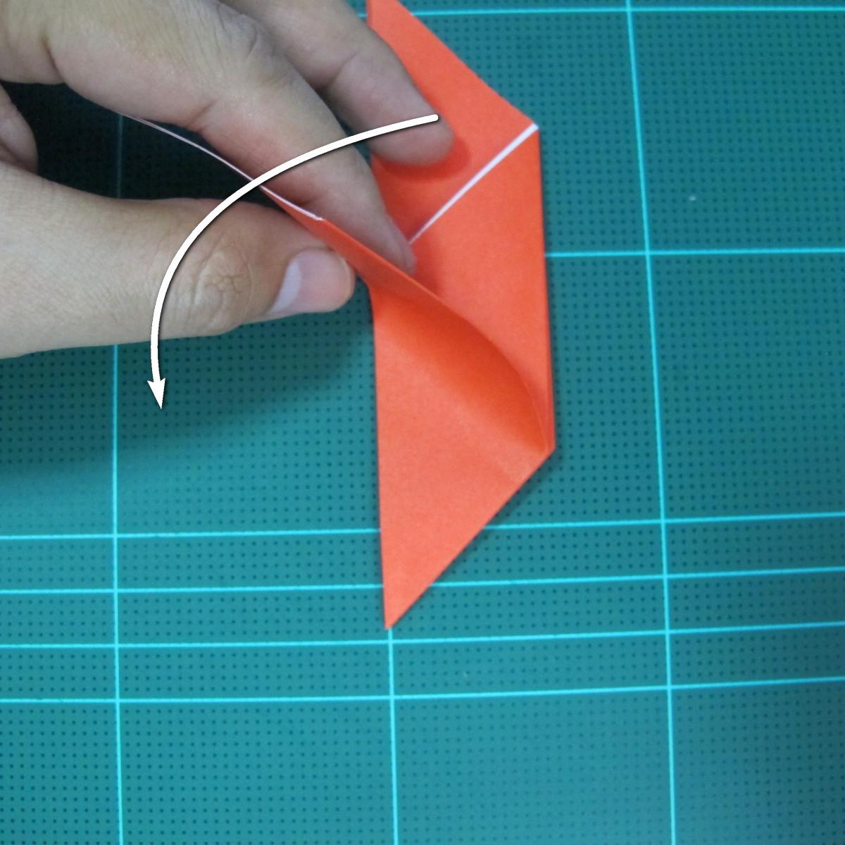 การพับกระดาษเป็นนกพิราบ (Origami pigeon) 00016