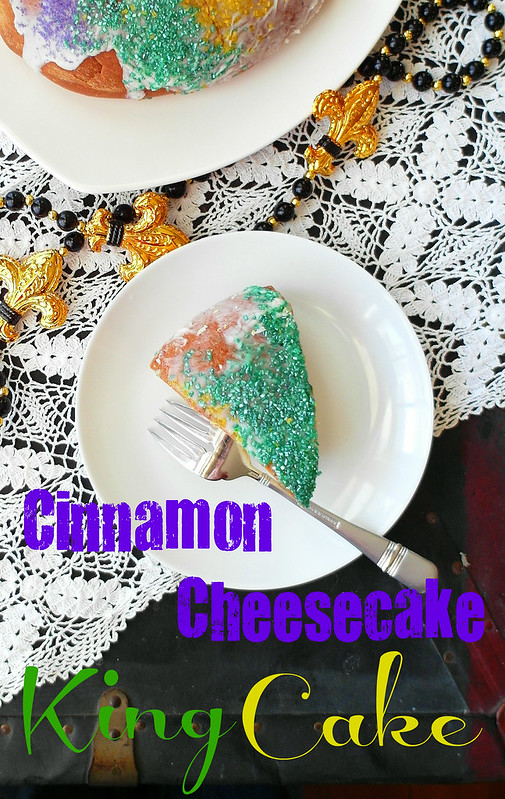 Cinnamon Cheesecake King Cake