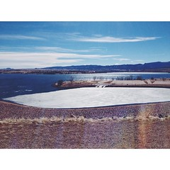 Today. Today was a good one! ☀️ #dam #chatfield #littleton #colorado #spring #winter #denver