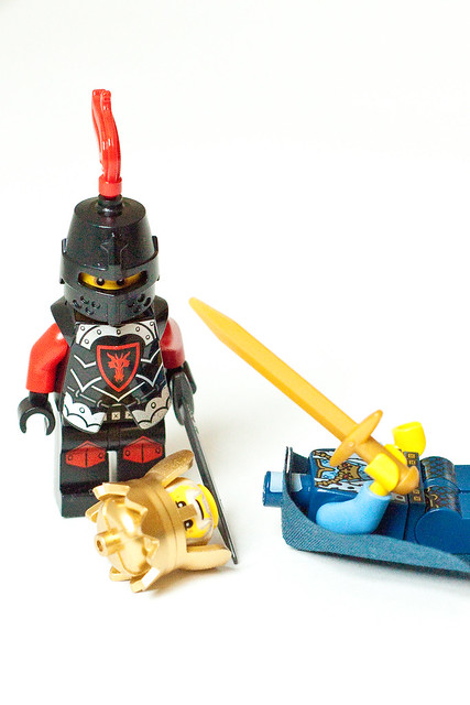 LEGO scenes with minifigures