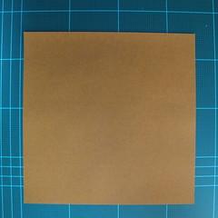 วิธีการพับกระดาษเป็นรูปกบ (แบบโคลัมเบี้ยน) (Origami Frog) 001