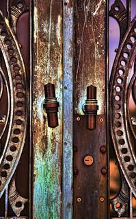 Locked Mausoleum