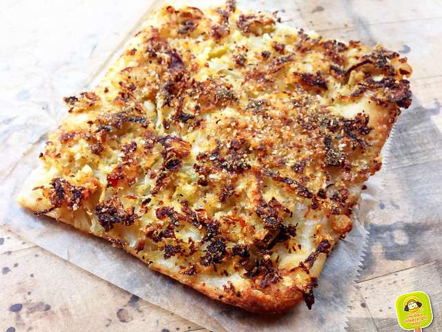 Sullivan St. Bakery - Cauliflower pizza