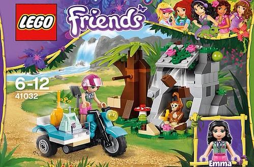 LEGO Friends First Aid Jungle Bike (41032)