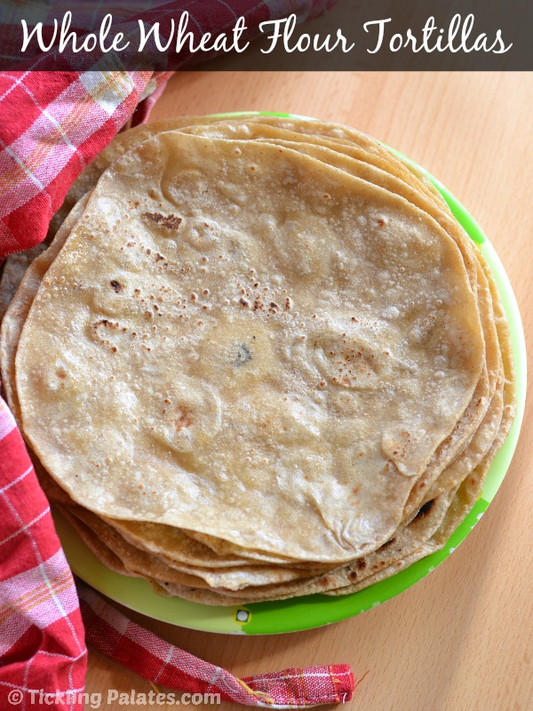 how to make whole wheat flour tortillas