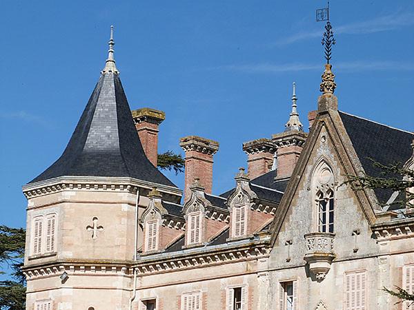 toits château
