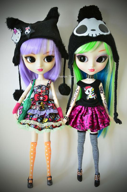 Violetta and Kanako