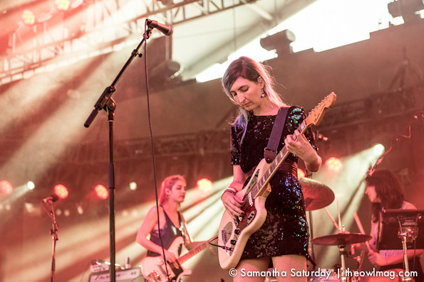 Warpaint @ Coachella 2014 Weekend 2 - Saturday