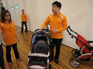 Combi御捷輪III手推車2014新品上市體驗會