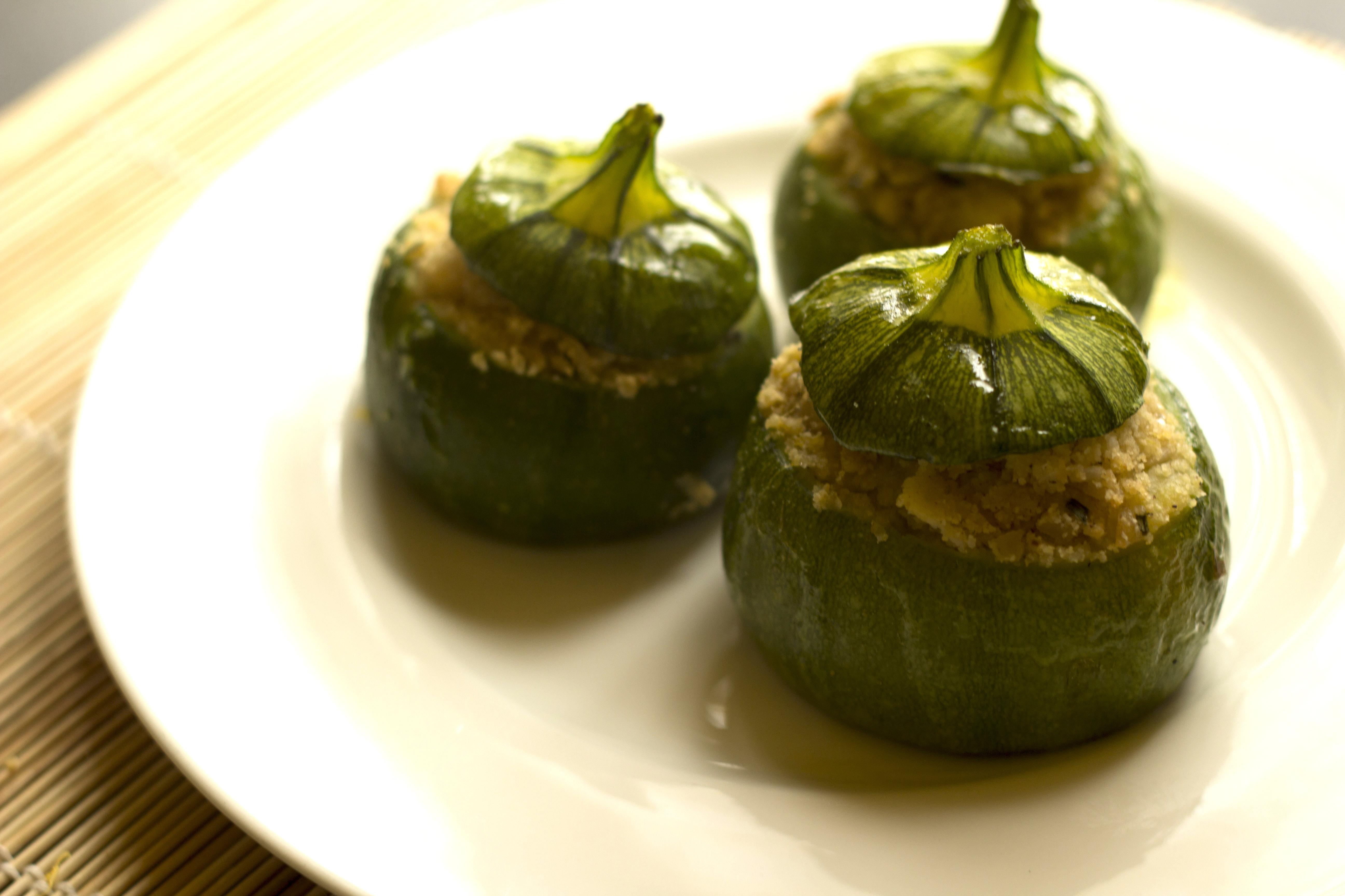 Zucchine Tonde Ripiene con il Bimby