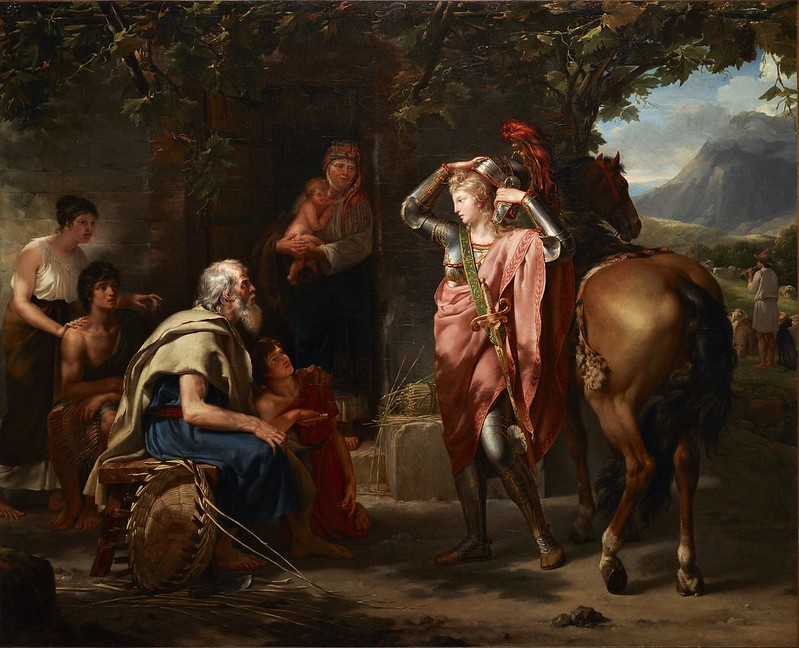 Guillaume Guillon Lethiere - Erminia and the Shepherds