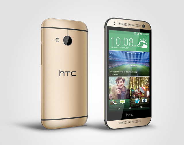 HTC One mini 2香檳金