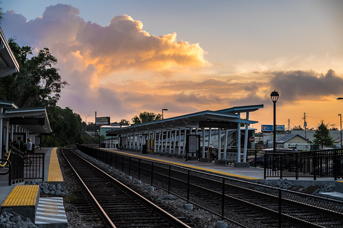 sky usa cloud station train sunrise landscape dawn orlando cityscape florida tracks explore maitland centralflorida rosack