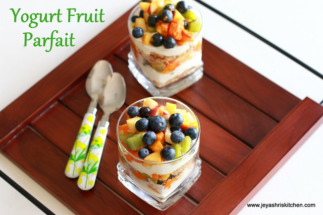 yogurt - fruit-parfait