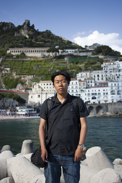 Citizen Tang in Amalfi