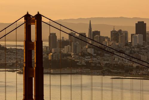 sanfrancisco california morning travel canon goldengatebridge goldengate nik hawkhill goldengateraptorobservatory t2i californiatravel hawkhillpark