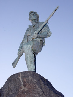 Image of Minuteman Statue. ma state lexington massachusetts patriot americanrevolution minuteman lexingtongreen henryhudsonkitson greatermerrimackvalley