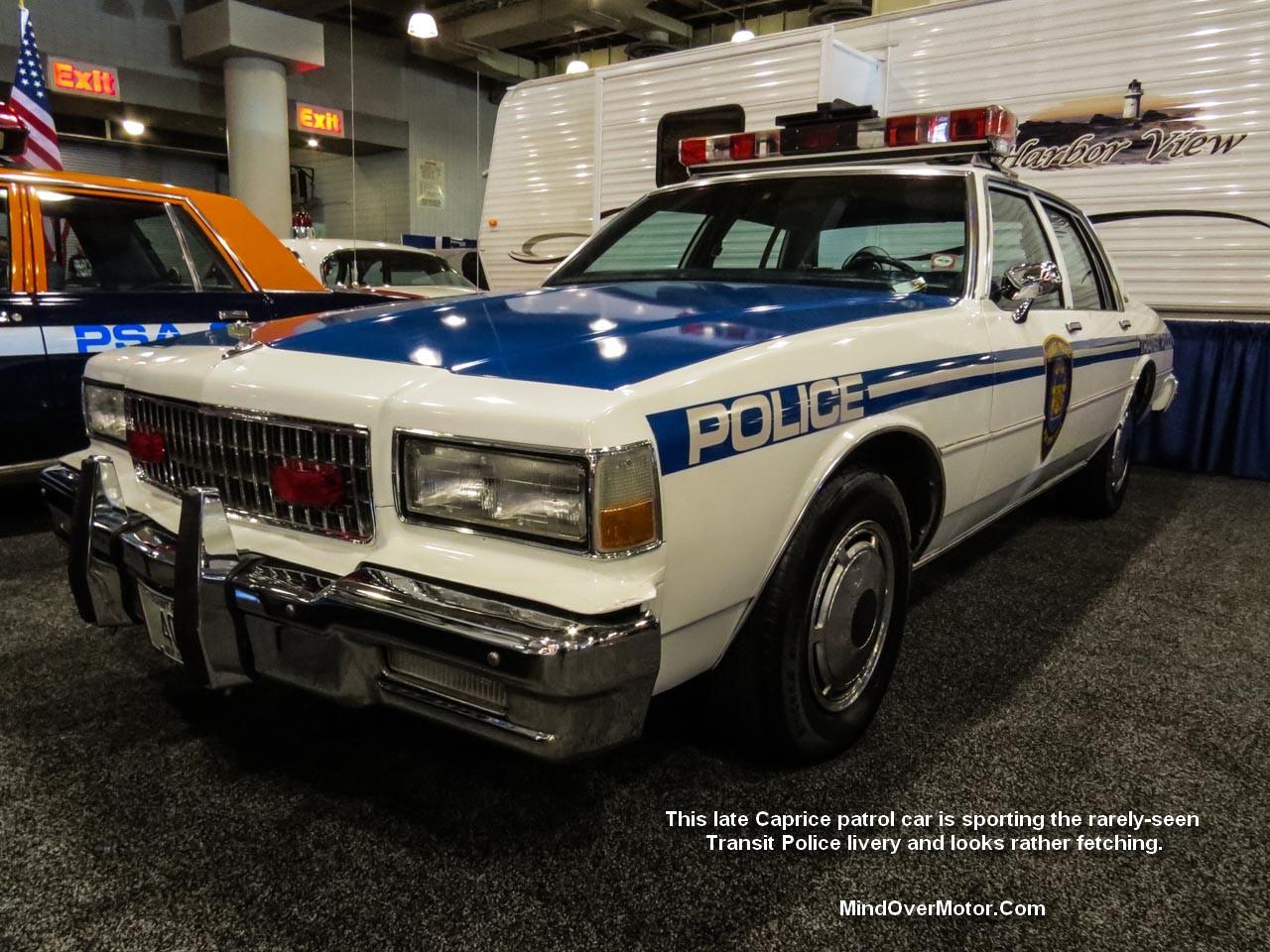 Chevrolet Caprice NY Transit Police Car