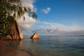 Anse Source d'Argent の画像. seychelles ladigue ansesourcedargent