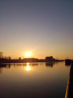 Albertkanaal - winter sunset