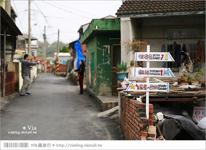 【大內龍貓公車站】台南龍貓公車站彩繪村~來去大內區石林里,陪龍貓等公車去!9