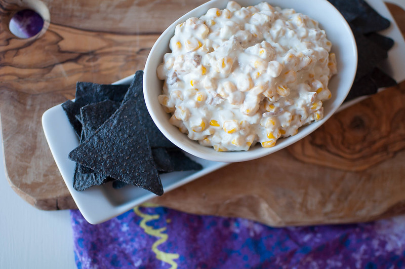 Bacon and Bleu Hot Corn Dip 1