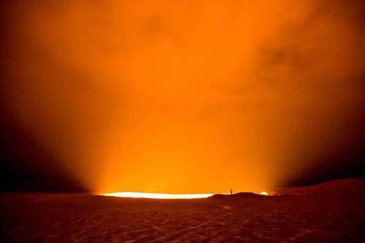 gas crater turkmenistan