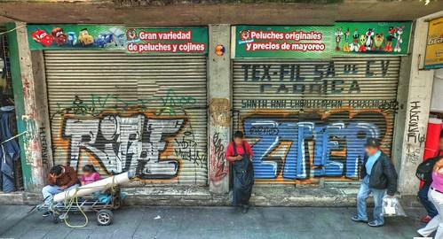 Fotografía de la calle en la Ciudad de México