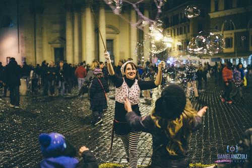 Bolle in Piazza del Popolo