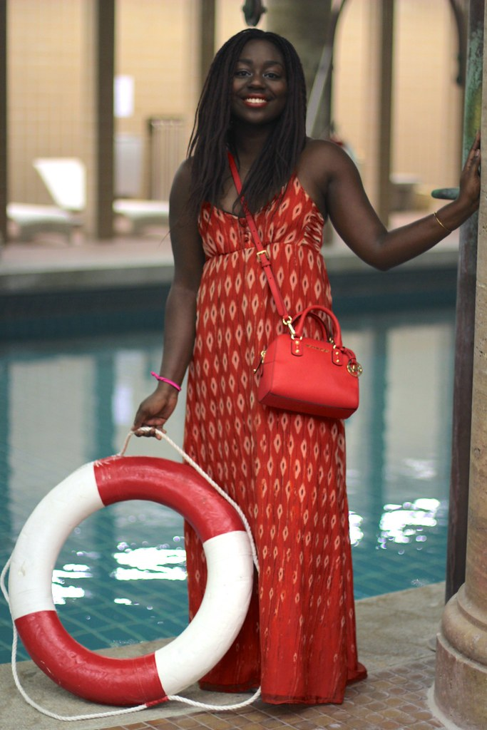 lois opoku esprit x caroline blomst swimwear collection launch lisforlois