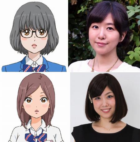 150209(1) -「井上喜久子」喜歡猛男、「茅野愛衣」暗戀阿誠!新動畫《俺物語!!》發表第2批聲優!