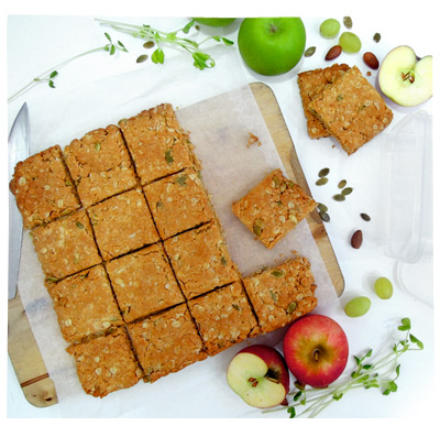 ANZAC Slice for School Lunch Boxes