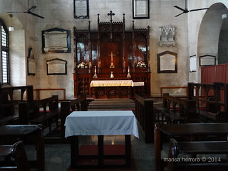 Sri Lanka. Colombo. Fort. St Peter's Church.