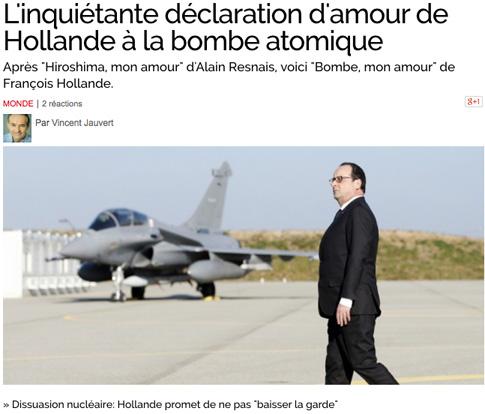 15b20 Obs Hollande y arma nuclear