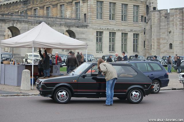 Vincennes en Anciennes 09/2011 - Fiat Ritmo Abarth