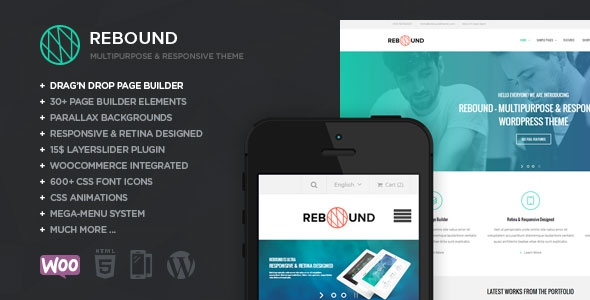 Rebound v2.9.6 - Responsive Multipurpose Retina Theme