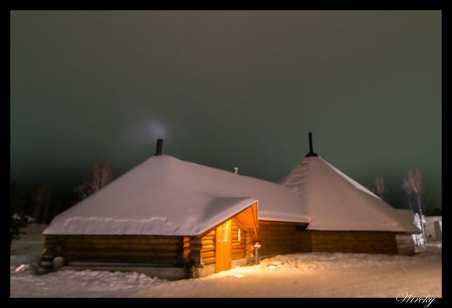 Laponia Rovaniemi iglú cristal cena salmón kota - Restaurante kota