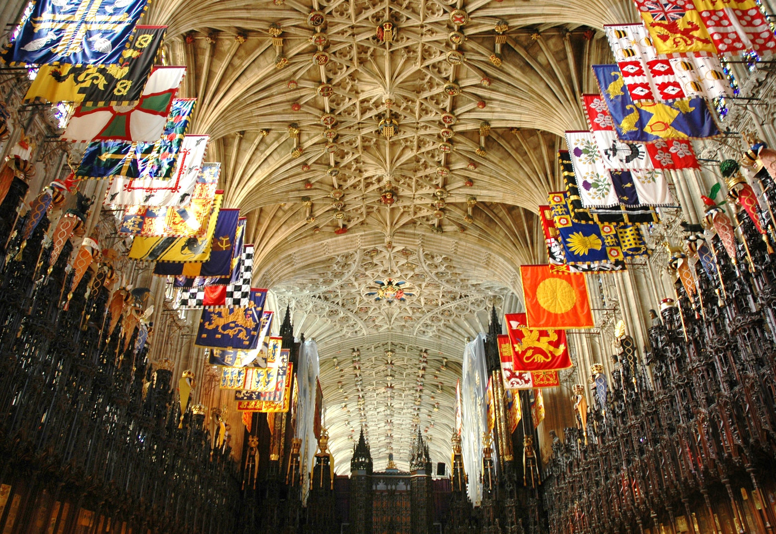 The Choir of St George's Chapel, Windsor Castle. Credit Josep Renalias