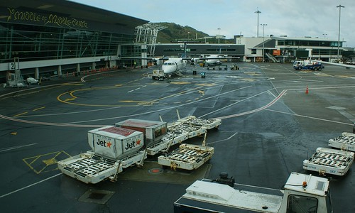 """<p>Wellington Airport - """"The Middle of Middle-Earth"""".</p>"""
