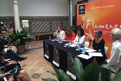 Présentation du 28e Festival International Arte Flamenco à l'Institut Andalou du flamenco de Séville