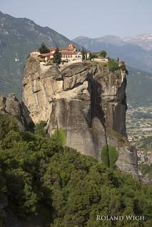 Meteora - Holy Trinity / Agía Triáda Monastery
