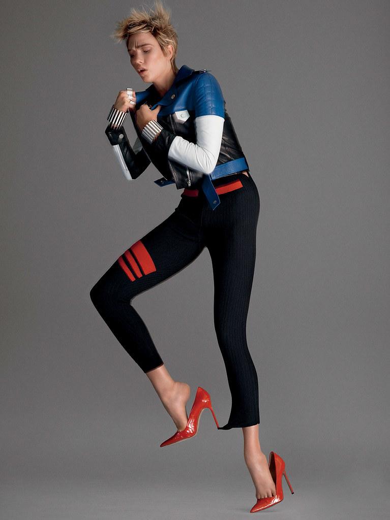Карли Клосс — Фотосессия для «Vogue» 2016 – 6