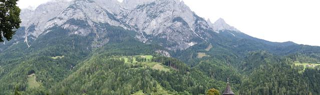 Photo:Alpine vista By quinet