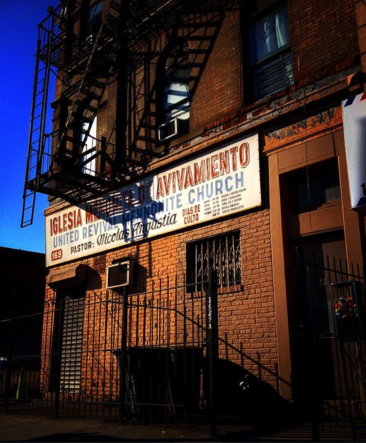 #a #church #bushwick #brooklyn #newyorkcity #fiveboroughs #facadelovers #facade #facades #spanish #latino #latinoamerica #documentaryphotography #documentary #architecturalphotography #architecture #design #like4like #likeforalike #signs #signsinspanish