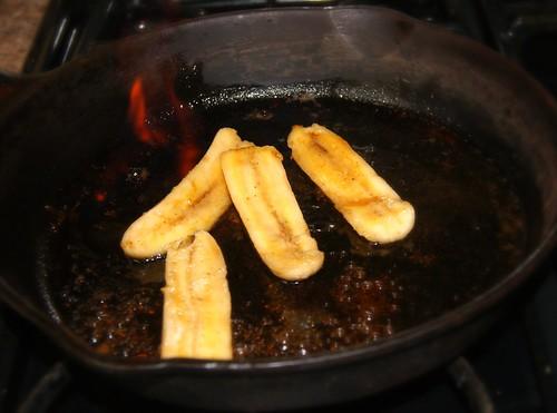 Vegan Bananas Foster