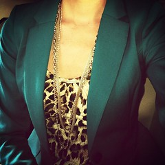 Loving #leopardprint and teal together! #forever21 #igstyle #igfashion #stylefile #wiw #ootd #fashiongram